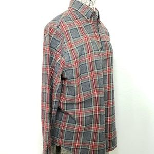 Eddie Bauer Flannel Long Sleeve Button Down Shirt